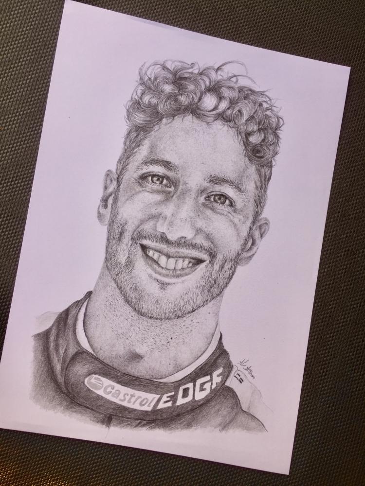 Daniel Ricciardo by knezovicovalex